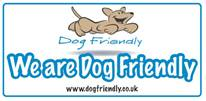 We are part of the Dog Friendly website